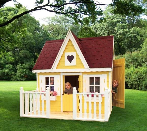 kinder spielhaus promadino schwalbennest holzhaus gartenhaus gartenspielhaus vom spielger te. Black Bedroom Furniture Sets. Home Design Ideas