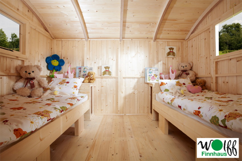 kinder spielhaus wolff camping bauwagen holz stelzen kaufen im holz online shop. Black Bedroom Furniture Sets. Home Design Ideas