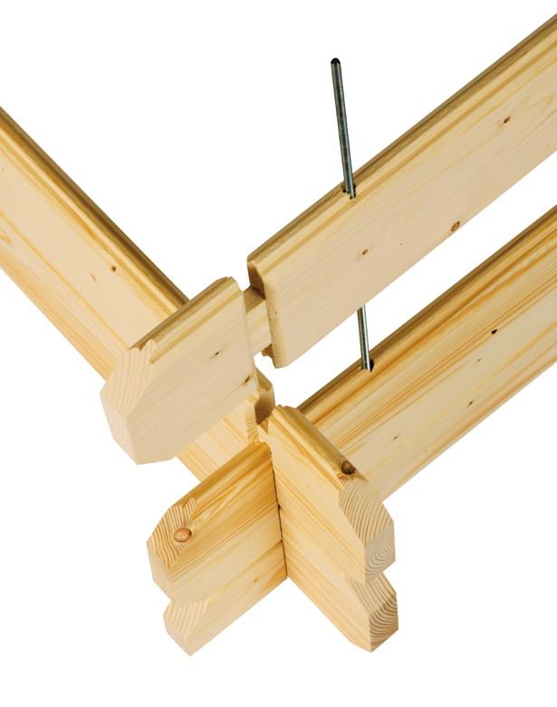 gartenhaus skanholz esbjerg 45mm blockbohlen holzhaus. Black Bedroom Furniture Sets. Home Design Ideas