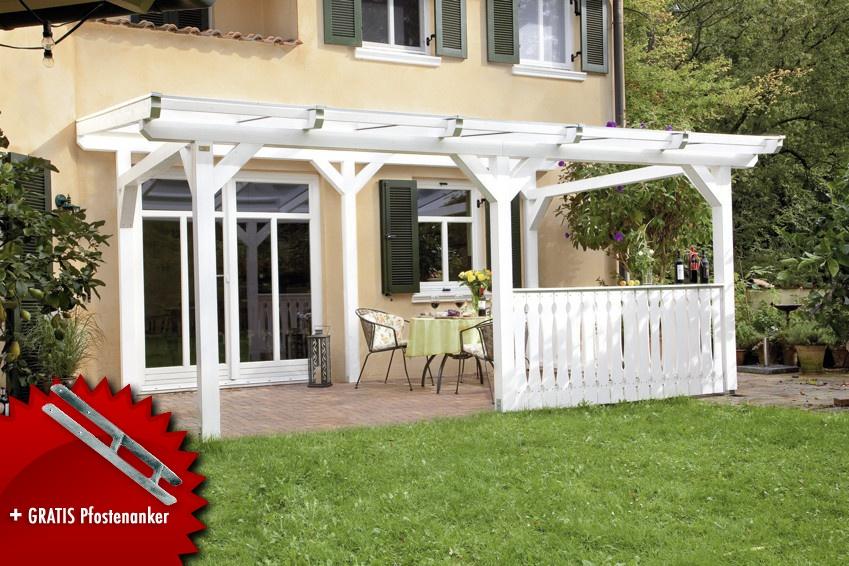 terrassenüberdachung holz-bausatz skanholz «siena» freistehend, Hause deko