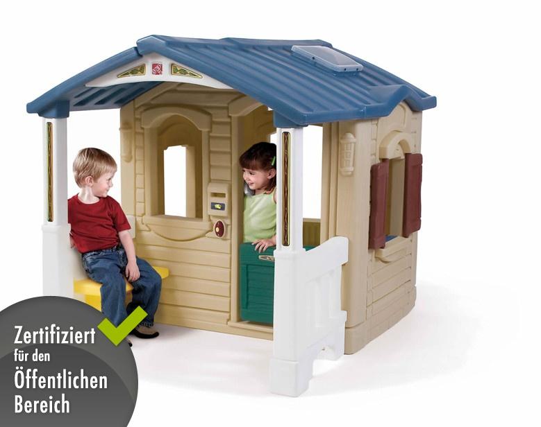 Kinderspielhaus Holz Hochwertig ~   Traumhaus» Kinderhaus Kunststoff  Kaufen im Holz Haus de Online Shop