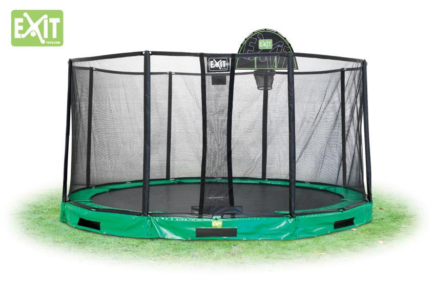 basketballkorb exit korb zum anbringen am trampolin kaufen im holz online shop. Black Bedroom Furniture Sets. Home Design Ideas