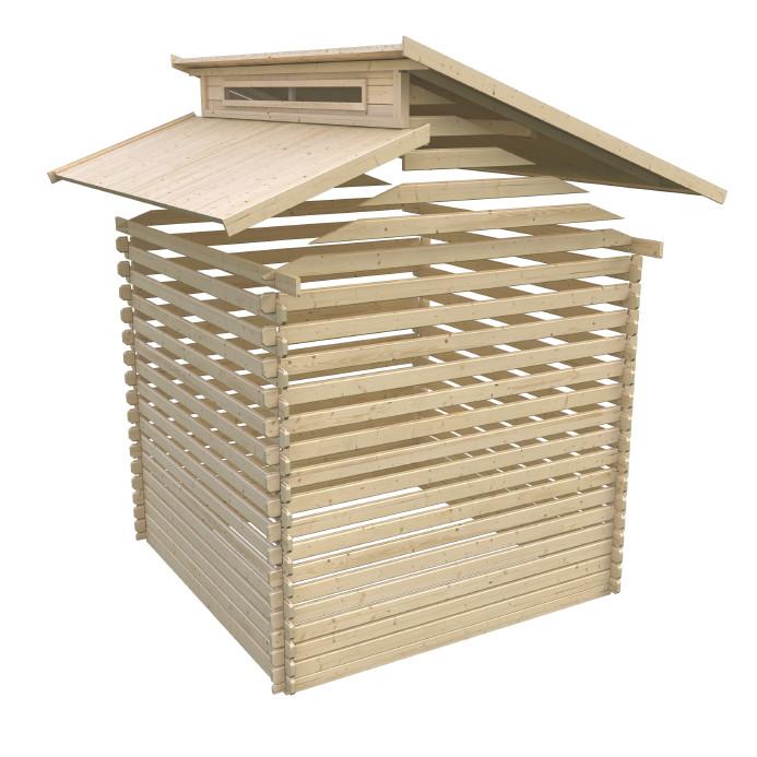 Gartenhaus Holz Endbehandelt ~ Gartenhaus KARIBU «Grönelo» Holz Haus Bausatz, Doppeltür  Kaufen