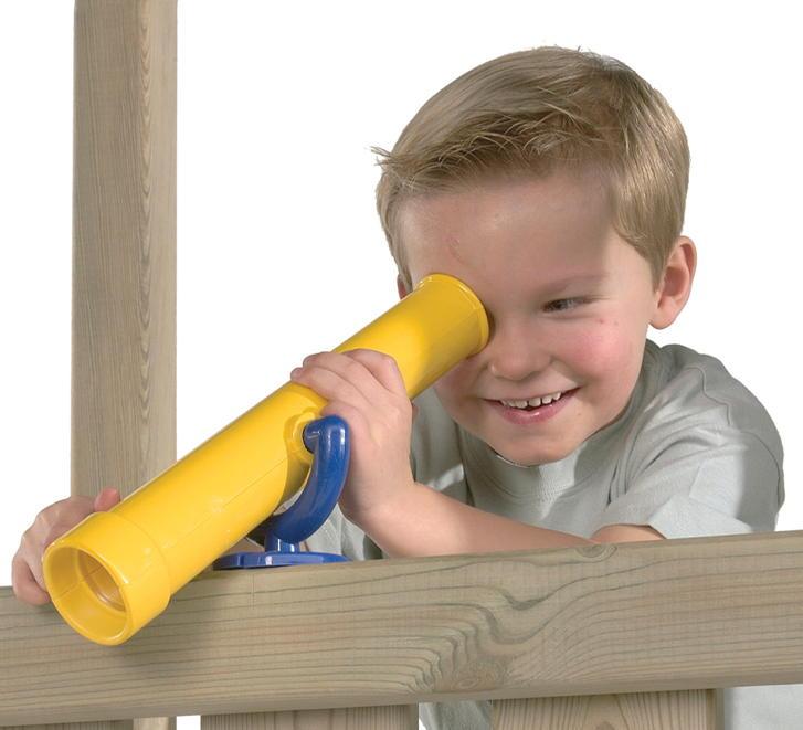 fernrohr axi teleskop zubeh r f r kinderspielhaus. Black Bedroom Furniture Sets. Home Design Ideas