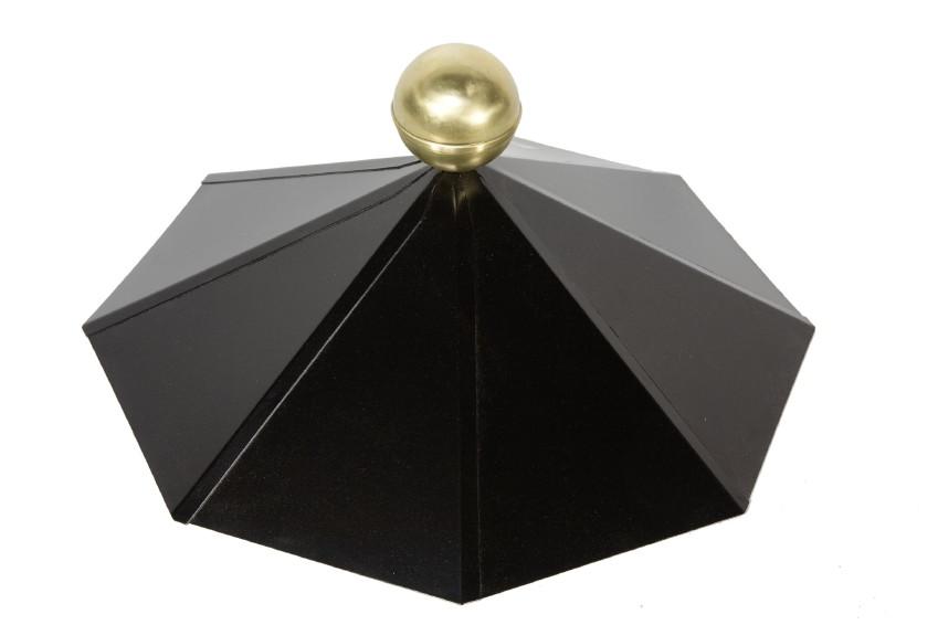 metall dachhaube f r holz pavillon 8 eckig mit. Black Bedroom Furniture Sets. Home Design Ideas