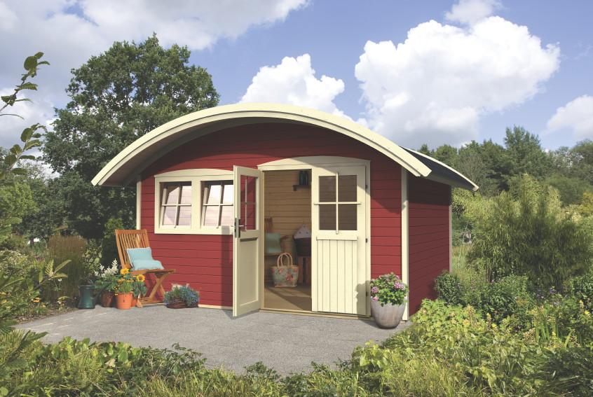 Gartenhaus Holz Endbehandelt ~ Gartenhaus KARIBU «Jordsund 2»  Friedland Holz Haus Bausatz