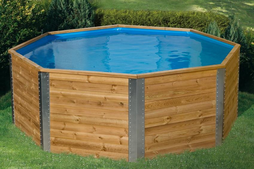 holzpool weka capri schwimmbecken aus holz. Black Bedroom Furniture Sets. Home Design Ideas