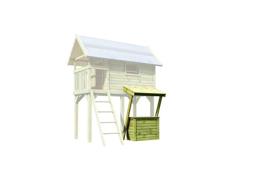 spielturm karibu kaufmannsladen anbauelement zubeh r f r. Black Bedroom Furniture Sets. Home Design Ideas