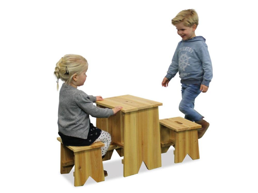kinder holz gartenbank picknick set gr e l kinder sitzgruppe kinderbank vom spielger te. Black Bedroom Furniture Sets. Home Design Ideas