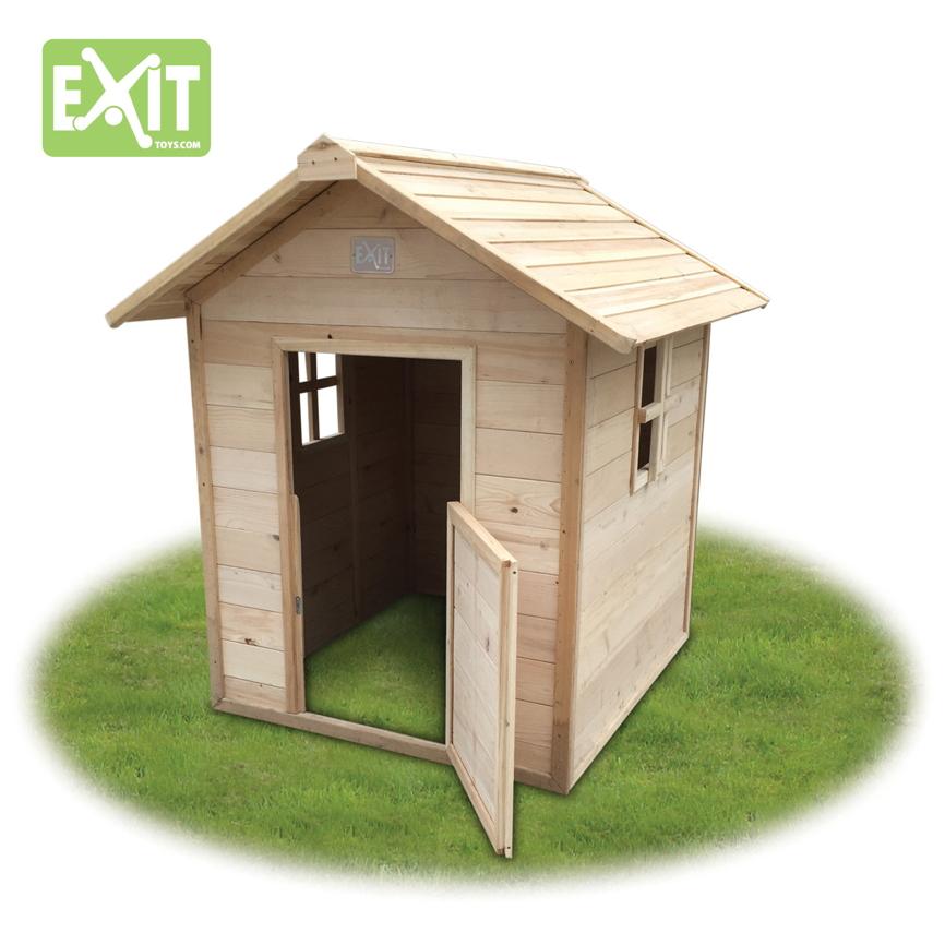 kinder spielhaus exit ibiza kinderspielhaus holzhaus natur vom spielger te fachh ndler. Black Bedroom Furniture Sets. Home Design Ideas