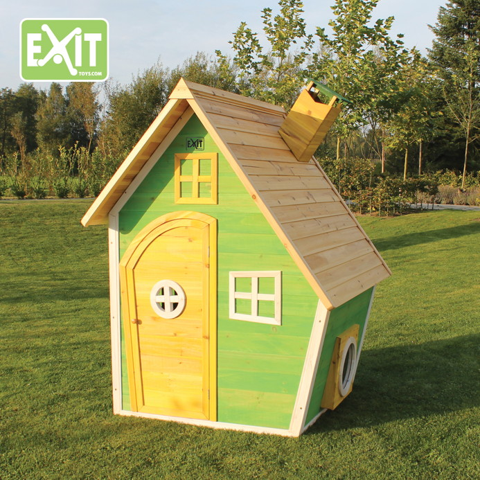 kinder spielhaus exit fantasia 100 comic kinderspielhaus holzhaus gr n vom spielger te. Black Bedroom Furniture Sets. Home Design Ideas