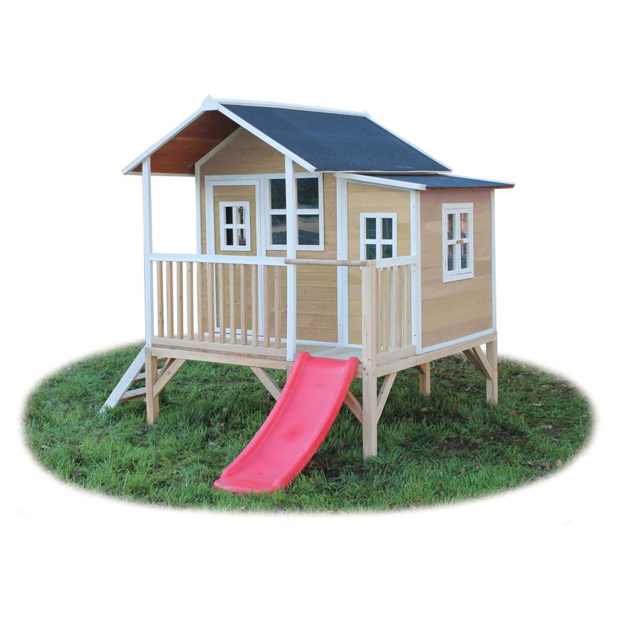 Bekannt Holz Kinder-Spielhaus flaches großes Stelzen-Kinderspielhaus RD24