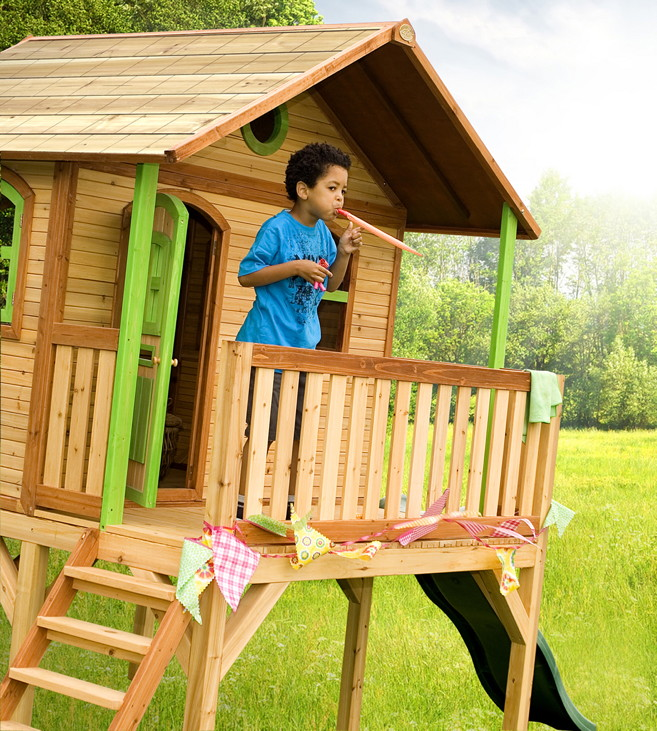 holz-kinder-spielhaus axi «sophie» kinderspielhaus auf stelzen, Schlafzimmer design