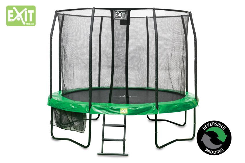 runde trampoline der klassiker f r den garten trampoline komplettsets o ebenerdig g nstig. Black Bedroom Furniture Sets. Home Design Ideas