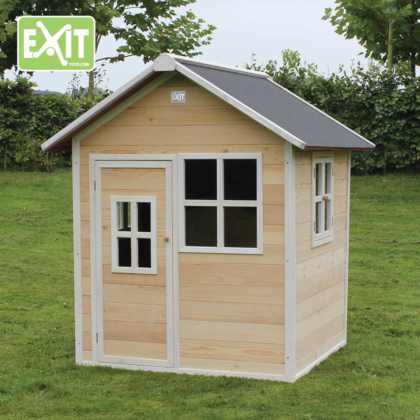 kinder spielhaus exit loft 100 kinderspielhaus holzhaus. Black Bedroom Furniture Sets. Home Design Ideas