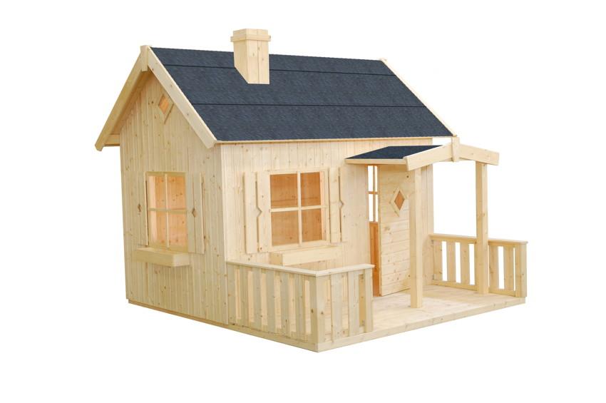 kinder spielhaus tree chambers kids hugo kinderspielhaus holz veranda vom spielger te. Black Bedroom Furniture Sets. Home Design Ideas