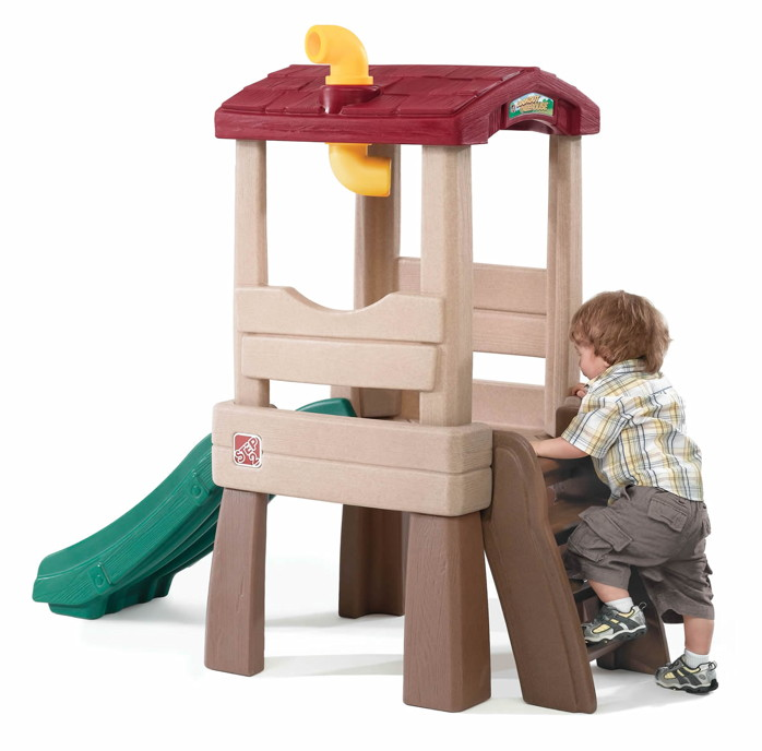 kinder kletterturm step 2 baumhaus spielhaus aus. Black Bedroom Furniture Sets. Home Design Ideas