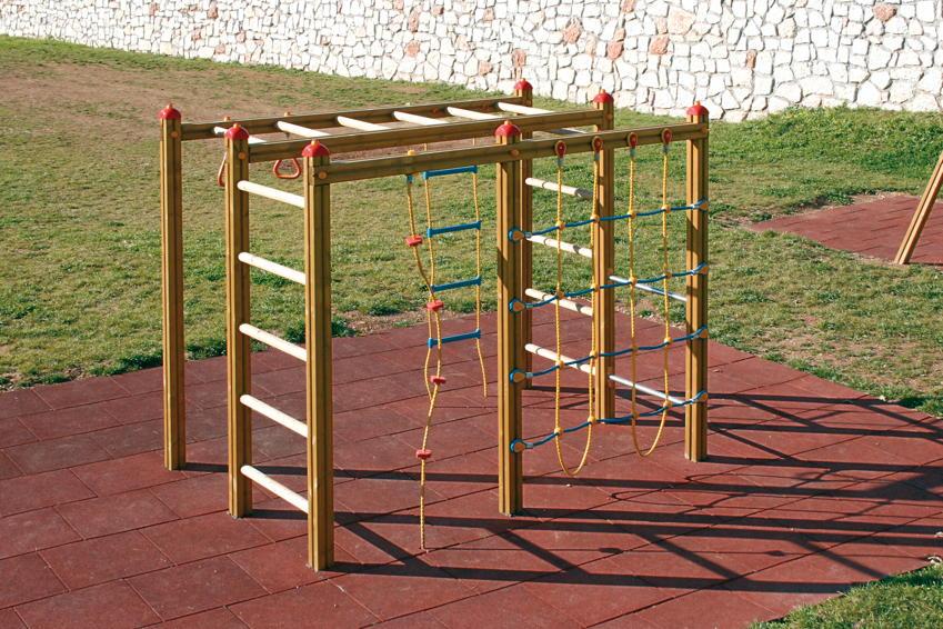 kletterger st holzhof klettersystem hangelger st netz. Black Bedroom Furniture Sets. Home Design Ideas