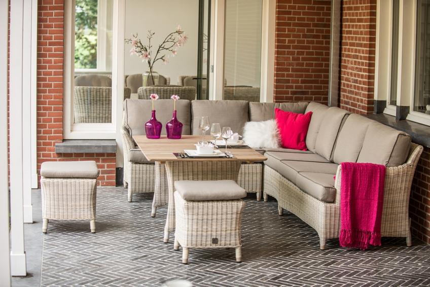 Gartenmobel Sofa Rund : Gartentisch «Valentine Cosy PROVANCE» Esstisch, Korbtisch mit