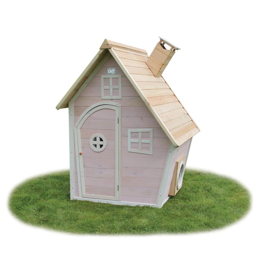 kinder spielhaus exit crooky 350 holzhaus stelzenhaus mit gro er veranda vom spielger te. Black Bedroom Furniture Sets. Home Design Ideas