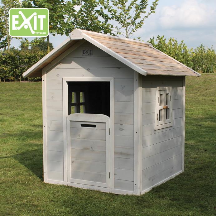 kinder spielhaus exit beach 100 kinderspielhaus holzhaus grau vom spielger te fachh ndler. Black Bedroom Furniture Sets. Home Design Ideas