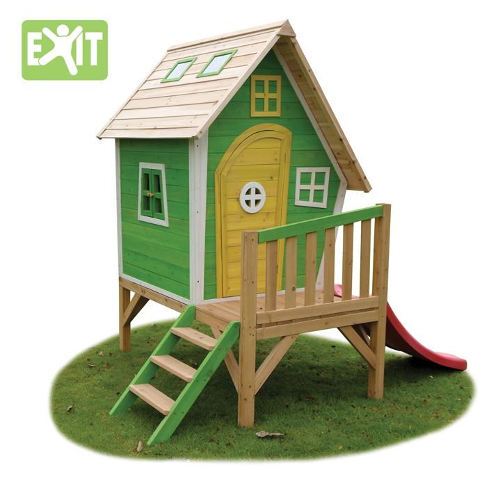 Kinderspielhaus Stelzenhaus Aus Holz Mit Rutsche ? Patrial.info Spielhaus Im Garten Kinderspielhaus Holz