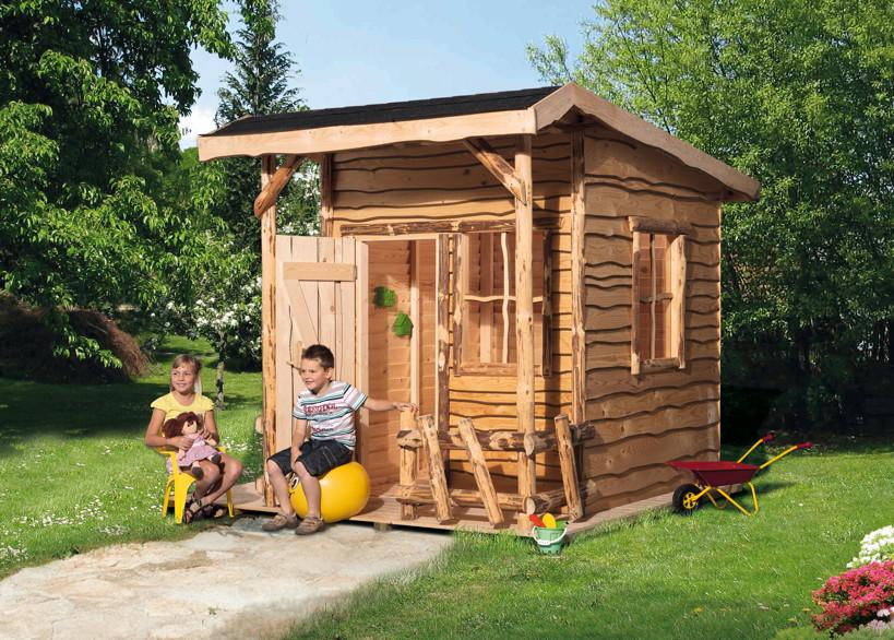 kinder holz spielhaus weka mecki abenteuerhaus kinderspielhaus kaufen im holz garten. Black Bedroom Furniture Sets. Home Design Ideas