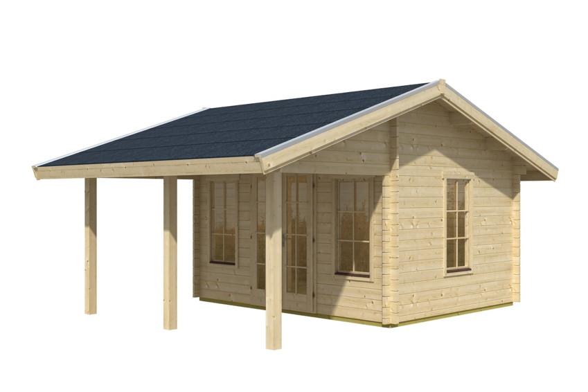 gartenhaus skanholz luzern mit gro er berdachung vom spielger te fachh ndler. Black Bedroom Furniture Sets. Home Design Ideas