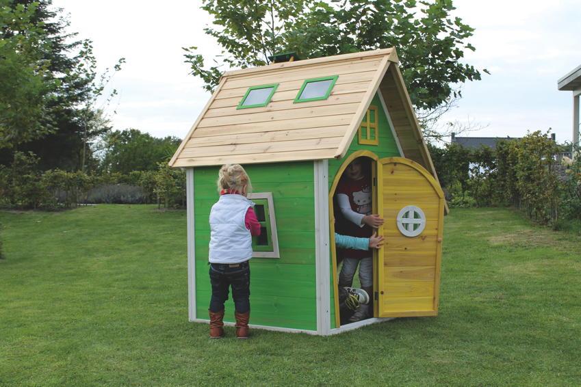 Kinderspielhaus Holz Ricardo ~ Spielhaus Kinderspielhaus Mit Veranda Modell Tom Pictures to pin on