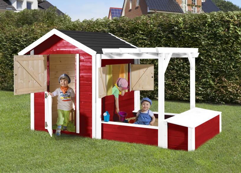 kinder holz spielhaus weka tabaluga drachenh hle inkl. Black Bedroom Furniture Sets. Home Design Ideas