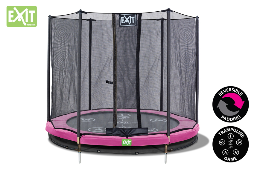 trampoline komplettsets o ebenerdig g nstig kaufen seite 6. Black Bedroom Furniture Sets. Home Design Ideas