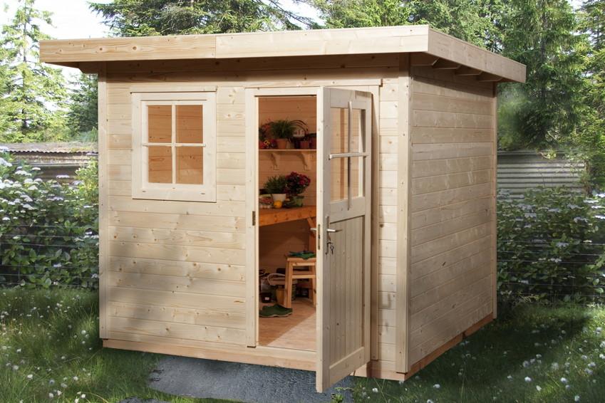 holz gartenhaus kaufen rn09 hitoiro. Black Bedroom Furniture Sets. Home Design Ideas